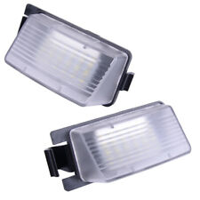 2PCS Number License Plate LED Light Lamp Fit for Nissan Leaf 2011-2019