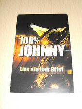 JOHNNY HALLYDAY Flyers 100% johnny