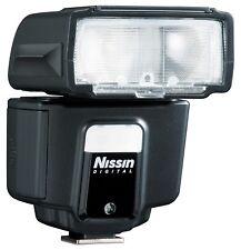 NISSIN i40 Mini Flash para cámara réflex digital pequeño Flash Fujifilm Fuji Sin Caja
