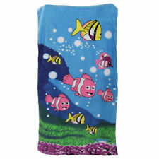 Serviettes, draps et gants de salle de bain animaliers coton