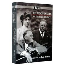 The Roosevelts An Intimate History, PBS Documentary by Ken Burns 7 DVD Set *New*