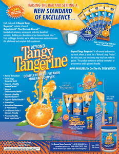 Beyond Tangy Tangerine® Multi Vitamin Mineral Complex by Youngveity. Sample