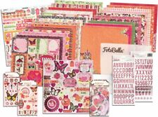BO BUNNY Sweet Clementine I Want It All! 12x12 Collection Bundle*Scrapbook Kits