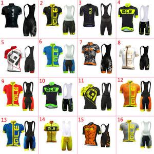 2021 Mens Cycling Clothing Bicycle Short Sleeve Cycling Jerseys Bib Shorts sets