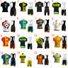 2021 Mens Cycling Clothing Bicycle Short Sleeve Cycling Jerseys Bib Shorts sets