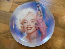 Old Vintage 1994 Plate Reflections of Marilyn Monroe All that Glitters Bradford