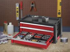 KETER Werkzeugkoffer mit  3 Schubladen  Werkzeugkiste Werkzeugkasten