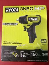 NEW!  Ryobi ONE + HP PSBIW01B 18V Cordless Brushless 4-Mode 3/8