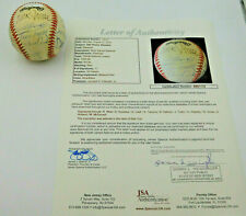 Old Timers Reunion Signed Baseball 17 Signers R. Wise, D Knowles, D Cash, + JSA