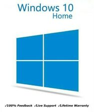 Microsoft Windows 10 Home 32 64 BIT Authentic Genuine License Key Product Code