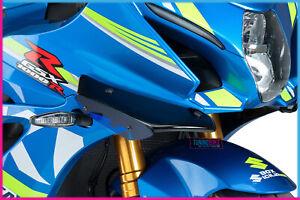 PUIG SIDE SPOILER DOWNFORCE FOR SUZUKI GSX-R1000/R 17-19 BLUE