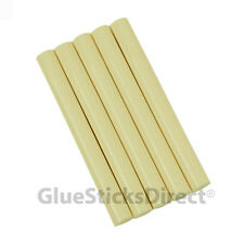 "GlueSticksDirect Ivory Colored Glue Sticks 7/16"" X 4""   5 sticks"