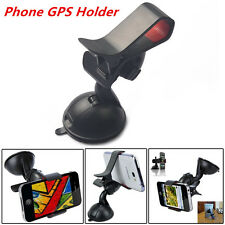 Car Mount 360° Rotable Clip Holder For Cell Phone iPhone Sucker Fixed Below 5''