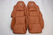 Custom Made 1994-1996 Corvette C4 Real Leather Seat Covers Standard Seats Tan