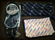 Vintage unused Air France Business Class Toiletry Amenity Kit Bag Set of 3 B3