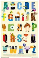 Disney Alphabet - Maxi Poster 61cm x 91.5cm new and sealed