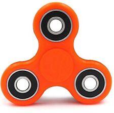 Orange Anti-Anxiety 360° EDC Spinner Helps Focusing Fidget Toy [3D Figit] Kids