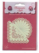 Marianne/Stencil/Romantic/Floral/Flower/Corner/emboss/Stitch/Embroider/EE3423