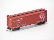 Accurail HO Scale 36' D/S Wood Boxcar Kit - Cotton Belt
