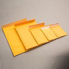 Gold Padded Bubble Envelopes Bags Postal Wrap Various Quantites All Sizes