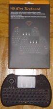 H9 Mini Handheld Wireless Keyboard Air Mouse Combo Remote Control Black NIB