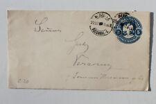 29916 Brief Ganzsache Mexico 5 Cinco Centavos 1911