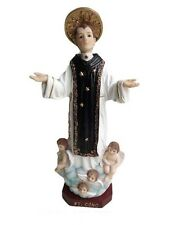 "12"" San Cono Saint Conus Statue St Santo Money Luck Lottery Figure Figurine"