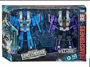 Transformers War Cybertron Earthrise Skywarp Thundercracker Seeker Seekers 2 Set
