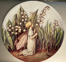 More details for the flower fairies cicely mary barker plates - the lily of the valley