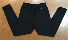 NIKE DRI FIT Women's Black Leggings Yoga Running Athletic Pants Medium