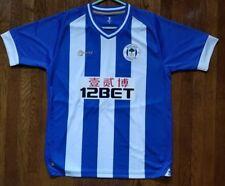 Wigan Athletic FC Football Soccer Shirt MI FIT Mens Shirt, L