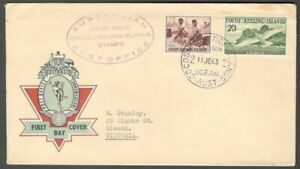 AOP Norfolk Island 1968 Ships 3v FDC First Day cover to Honolulu, Hawaii