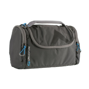 Lifeventure Compact Lightweight Travel Wash Holdall Large Grey