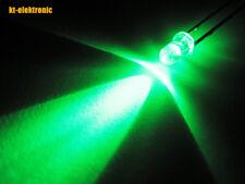 500 Stück LED 3mm grün ultrahell 12000mcd