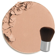 Colorescience Pressed Mineral Foundation Makeup+Brush - Cool Tan / Not Too Deep