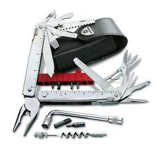 Victorinox Swiss Army Knife, Swisstool CS Plus W-Black Leather Pouch 53946, NIB