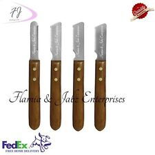 Stripping knifes,Carding knifes,Pet combs,Dog,Cat,Fox,Fur,Coat,4 piece set