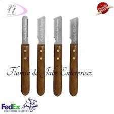 Stripping knifes,Carding knifes,Pet combs,Dog,Cat,Fox,Fur,Coat,4 piece set
