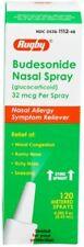 Rugby Budesonide Nasal Spray Glucocorticoid, 32 mcg 8.43ML 120 Sprays