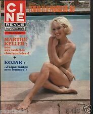 Couverture magazine,Coverage Ciné Revue 04/05/79 Evelin Hanach
