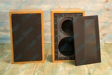 Pair Speaker Box For Rogers LS3 / 5A, Rogers LS 3 / 5A cherry spec bbc