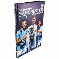 Manchester City FC Official 2019 Annual NEW Football Book Man City