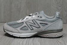 56 New Balance 990v4 GS Grey Youth Sz 4/ Women's Sz 5.5 KJ990GLG Running Shoes
