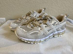 Asics Gel-Nandi 360 Cream Putty Men Trail Running Casual Shoes 1021A416 Size 8