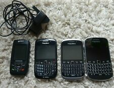 Blackberry Mobile Phone Bundle x 3 Samsung mobile phone x 1