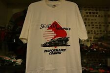"""DON """"THE SNAKE"""" PRUDHOMME SKOAL BANDIT FUNNY CAR T SHIRT XL @ SEAFAIR NATIONALS"""