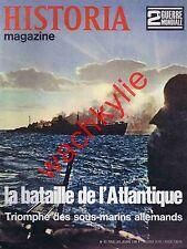 Historia magazine ww2 n°53 bataille de l'Atlantique sous-marins U-boote