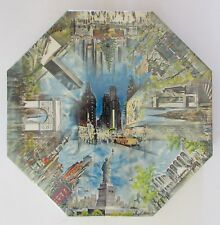 VTG Mid Century Sealed 1968 Springbok Puzzle NEW YORK City Hugh Laidman