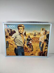 Milton Bradley 1000 Piece Jigsaw Puzzle MOVIE James Dean Marilyn Monroe VTG NOS