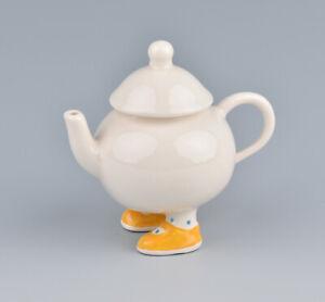 Carlton Ware Lustre Design Walking Ware Miniature Teapot